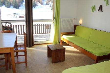 Rent in ski resort Studio sleeping corner 4 people (BA0137S) - Résidence le Bois d'Aurouze - Superdévoluy