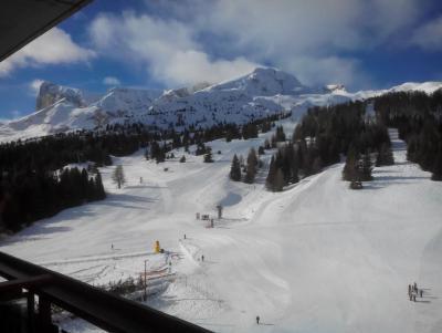 Location au ski Studio coin montagne 4 personnes (BA0922S) - Résidence le Bois d'Aurouze - Superdévoluy - Extérieur hiver
