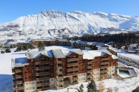 Rent in ski resort Studio 3 people (BA1003N) - Résidence le Bois d'Aurouze - Superdévoluy