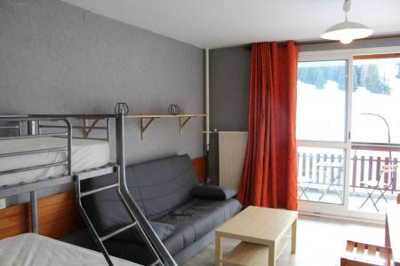 Rent in ski resort Studio 4 people (BA0108S) - Résidence le Bois d'Aurouze - Superdévoluy - Living room