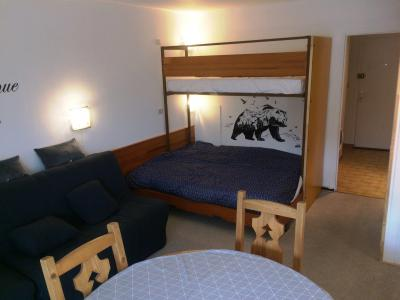 Rent in ski resort Studio 4 people (BA0253S) - Résidence le Bois d'Aurouze - Superdévoluy - Bunk beds