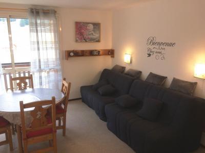 Rent in ski resort Studio 4 people (BA0253S) - Résidence le Bois d'Aurouze - Superdévoluy - Living room