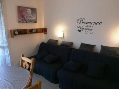 Rent in ski resort Studio 4 people (BA0253S) - Résidence le Bois d'Aurouze - Superdévoluy - Sofa-bed