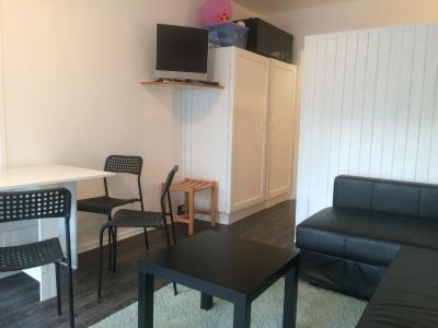 Rent in ski resort Studio sleeping corner 4 people (BA0106S) - Résidence le Bois d'Aurouze - Superdévoluy - Living room