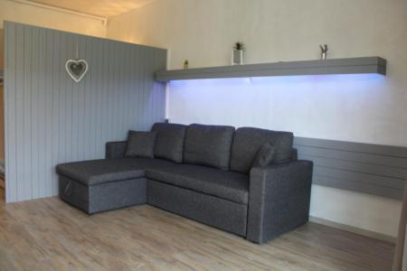 Rent in ski resort Studio sleeping corner 4 people (BA0922S) - Résidence le Bois d'Aurouze - Superdévoluy - Bed-settee
