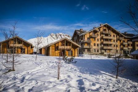 Location au ski Residence Le Hameau Du Puy - Superdévoluy - Extérieur hiver