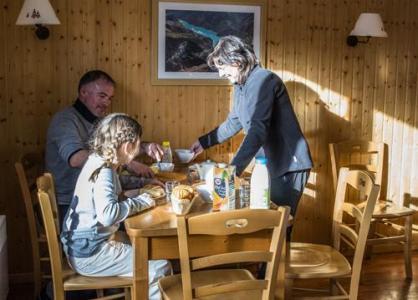 Location au ski Residence Le Hameau Du Puy - Superdévoluy - Salle à manger
