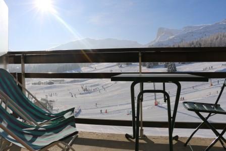 Rent in ski resort 2 room apartment sleeping corner 6 people (PS0407) - Résidence le Plein Sud - Superdévoluy - Winter outside