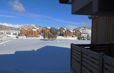 Location au ski Residence Les Chaumettes - Superdévoluy - Extérieur hiver