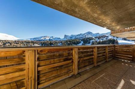 Location au ski Residence Les Chaumettes - Superdévoluy - Balcon