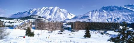 Rent in ski resort 2 room apartment 5 people (IS0907X) - Résidence les Issarts  - Superdévoluy