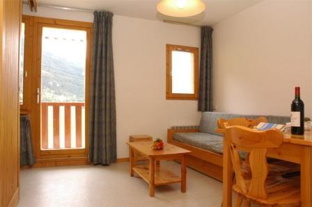 Location au ski Appartement 2 pièces 4 personnes (10) - Residence Le Petit Mont Cenis - Termignon-la-Vanoise - Séjour