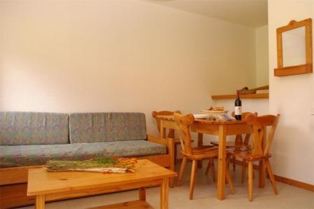 Location au ski Appartement 2 pièces 4 personnes (10) - Residence Le Petit Mont Cenis - Termignon-la-Vanoise - Table