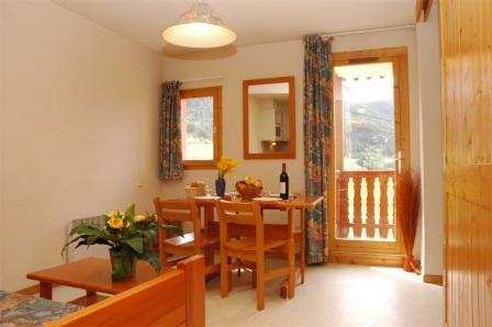 Location au ski Appartement 2 pièces 4 personnes (17) - Residence Le Petit Mont Cenis - Termignon-la-Vanoise - Séjour