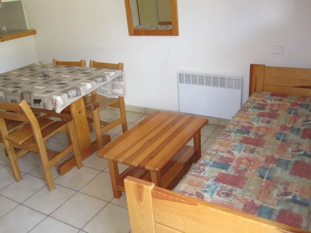 Location au ski Appartement 2 pièces 4 personnes (20) - Residence Le Petit Mont Cenis - Termignon-la-Vanoise - Canapé