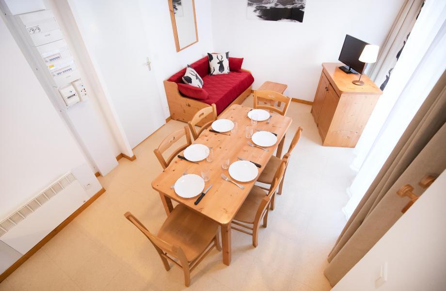 Аренда на лыжном курорте Апартаменты 2 комнат 5 чел. (2P5+) - Les Balcons de la Vanoise - Termignon-la-Vanoise - Столова&