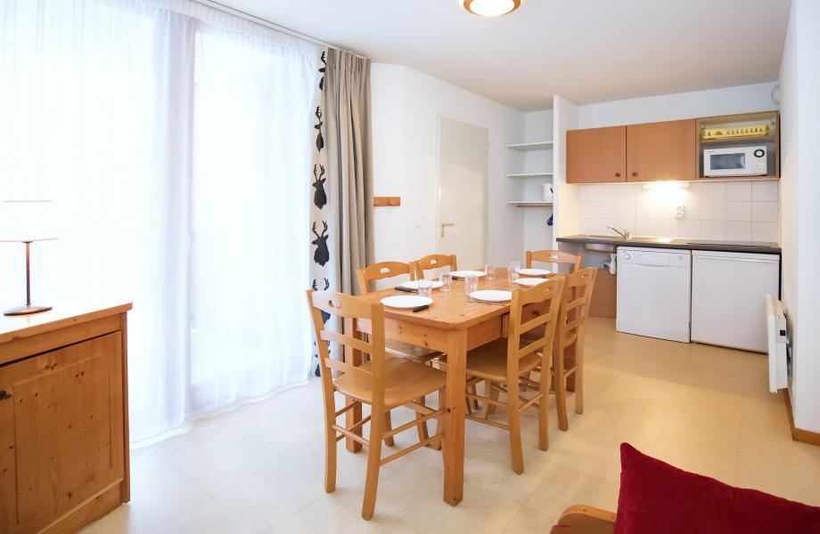 Аренда на лыжном курорте Апартаменты 2 комнат 5 чел. (2P5+) - Les Balcons de la Vanoise - Termignon-la-Vanoise - Салон