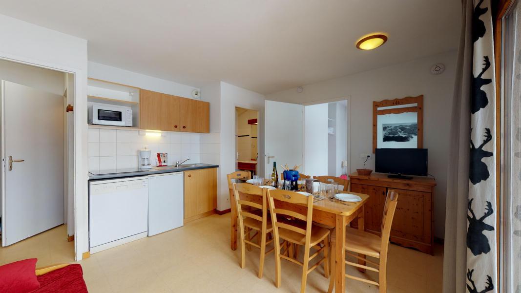 Аренда на лыжном курорте Апартаменты 2 комнат кабин 6 чел. (2P6CC+) - Les Balcons de la Vanoise - Termignon-la-Vanoise - Небольш&