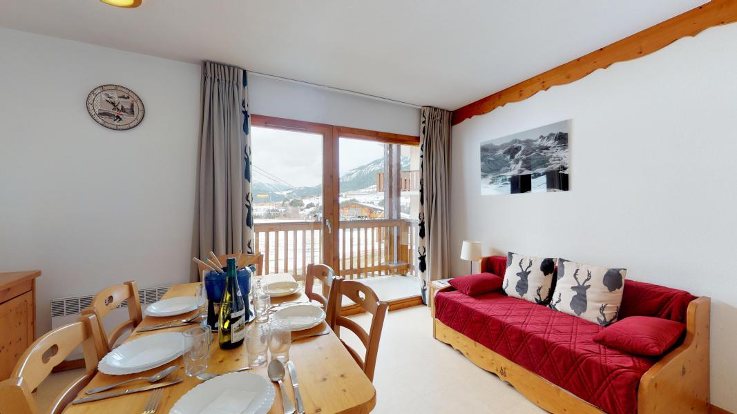 Аренда на лыжном курорте Апартаменты 2 комнат кабин 6 чел. (2P6CC+) - Les Balcons de la Vanoise - Termignon-la-Vanoise - Салон