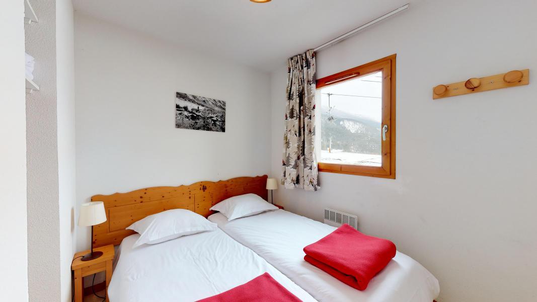 Аренда на лыжном курорте Апартаменты 2 комнат кабин 6 чел. (2P6CC+) - Les Balcons de la Vanoise - Termignon-la-Vanoise - Односпальная кровать