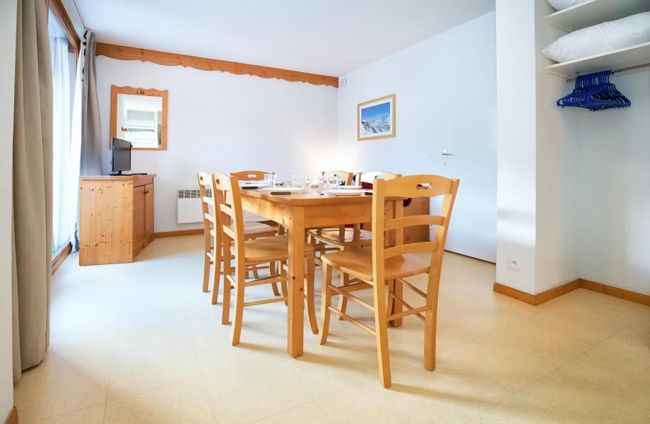 Аренда на лыжном курорте Апартаменты 2 комнат 6 чел. (2P6CM+) - Les Balcons de la Vanoise - Termignon-la-Vanoise - Столова&