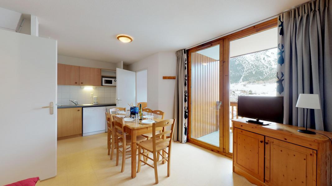 Аренда на лыжном курорте Апартаменты 2 комнат 6 чел. (2P6CM+) - Les Balcons de la Vanoise - Termignon-la-Vanoise - Небольш&