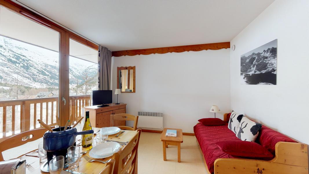 Аренда на лыжном курорте Апартаменты 2 комнат 6 чел. (2P6CM+) - Les Balcons de la Vanoise - Termignon-la-Vanoise - Салон