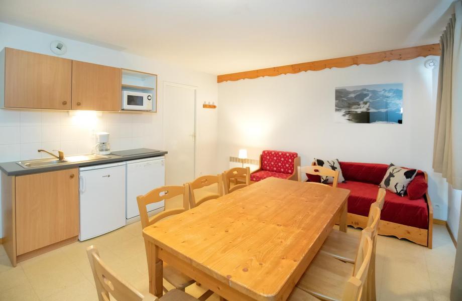 Аренда на лыжном курорте Апартаменты 4 комнат 8 чел. (4P8+) - Les Balcons de la Vanoise - Termignon-la-Vanoise - Салон