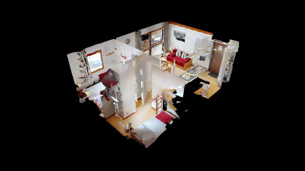 Location au ski Appartement 2 pièces cabine 6 personnes (2P6CC+) - Les Balcons de la Vanoise - Termignon-la-Vanoise - Plan