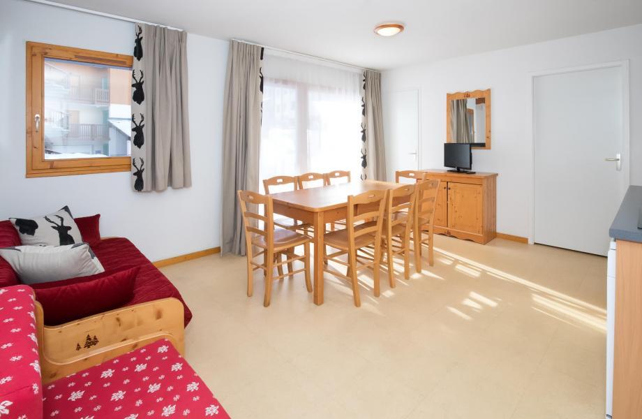Location au ski Appartement 4 pièces 8 personnes (Rénové) (4P8+) - Les Balcons de la Vanoise - Termignon-la-Vanoise - Séjour