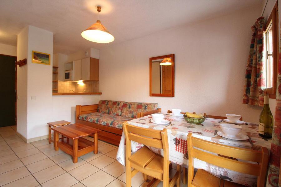 Аренда на лыжном курорте Апартаменты 2 комнат 4 чел. (8) - Résidence le Petit Mont Cenis - Termignon-la-Vanoise - Столова&