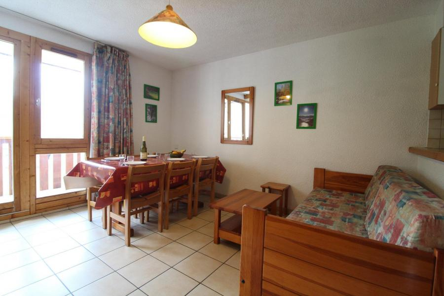 Аренда на лыжном курорте Апартаменты 2 комнат 6 чел. (7) - Résidence le Petit Mont Cenis - Termignon-la-Vanoise - Столова&