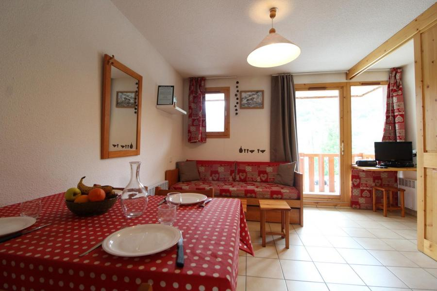 Alquiler al esquí Apartamento 2 piezas para 4 personas (24) - Résidence le Petit Mont Cenis - Termignon-la-Vanoise - Comedor