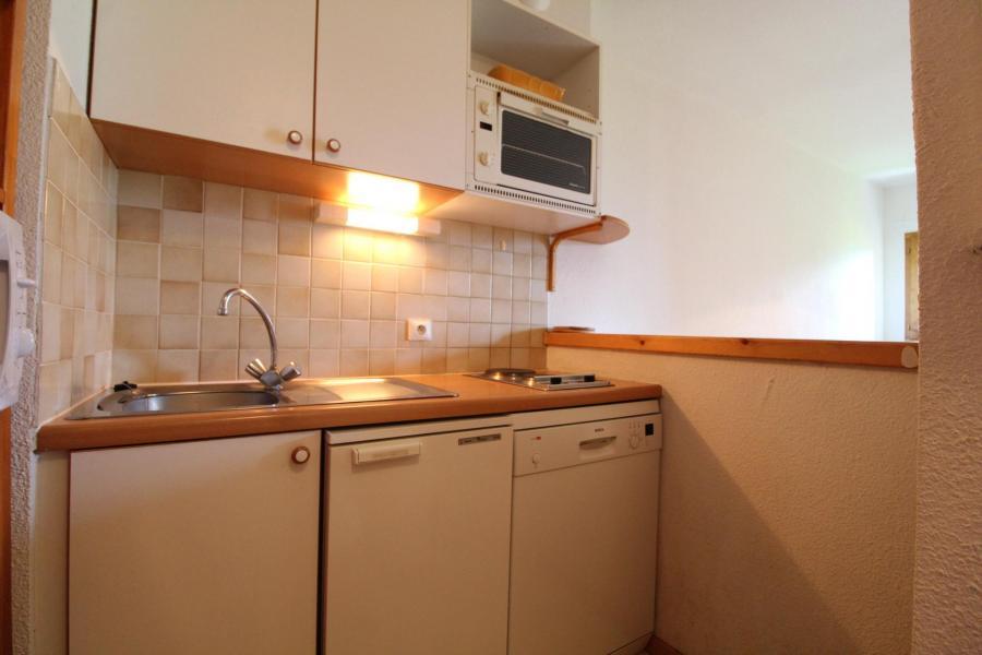 Location au ski Appartement 2 pièces 4 personnes (17) - Résidence le Petit Mont Cenis - Termignon-la-Vanoise - Kitchenette