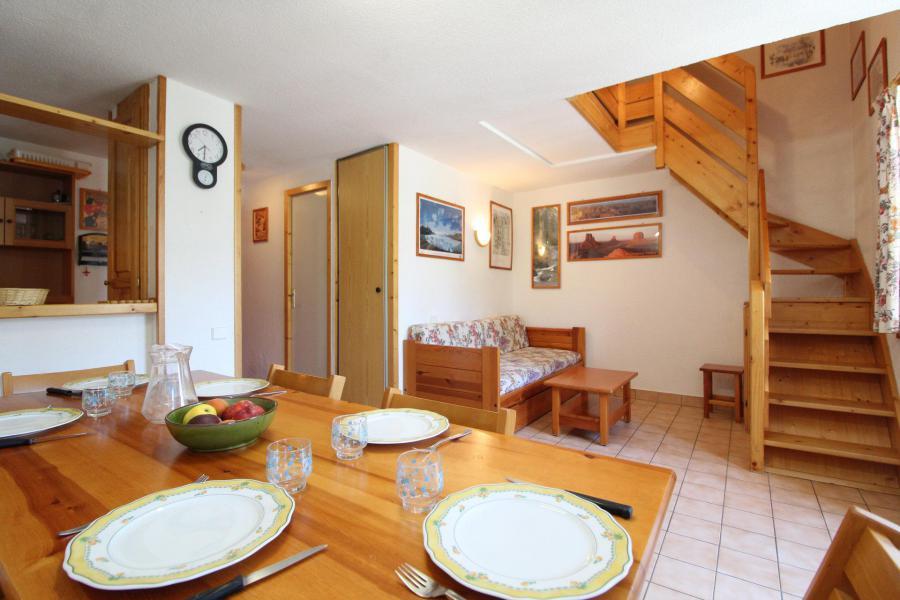Location au ski Appartement 2 pièces mezzanine 6 personnes (26) - Résidence le Petit Mont Cenis - Termignon-la-Vanoise - Salle à manger