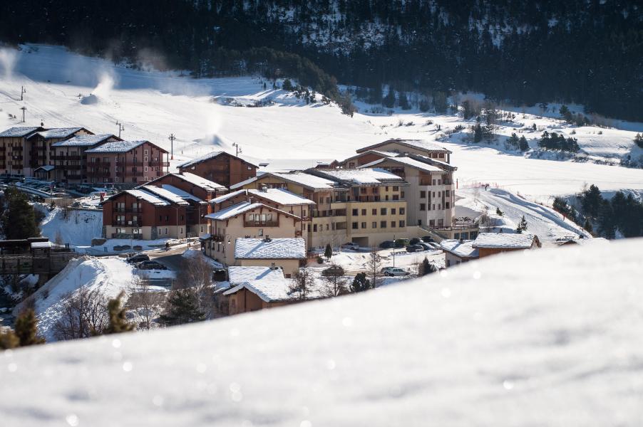 Location au ski Résidence les Terrasses de Termignon - Termignon-la-Vanoise - Extérieur hiver