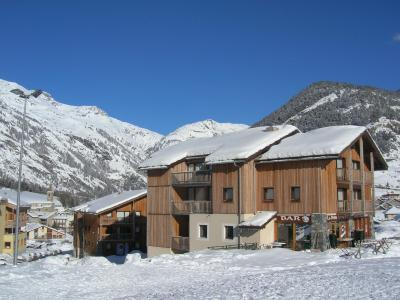 Accommodation at foot of pistes Les Balcons de la Vanoise