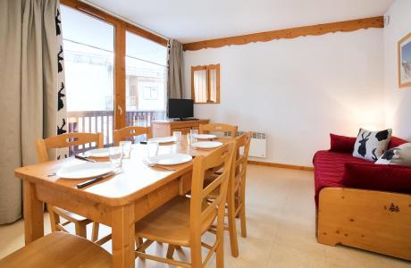 Location au ski Appartement 2 pièces coin montagne 6 personnes (2P6CM+) - Les Balcons de la Vanoise - Termignon-la-Vanoise - Coin repas