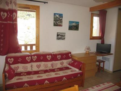 Location au ski Appartement 2 pièces 4 personnes (026) - Residence Le Petit Mont Cenis - Termignon-la-Vanoise - Canapé