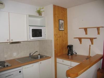 Location au ski Appartement 2 pièces 4 personnes (026) - Residence Le Petit Mont Cenis - Termignon-la-Vanoise - Kitchenette