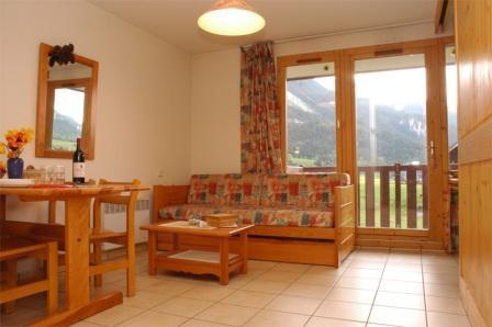 Location au ski Appartement 2 pièces 4 personnes (22) - Residence Le Petit Mont Cenis - Termignon-la-Vanoise - Séjour