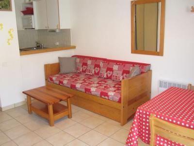 Location au ski Appartement 2 pièces 4 personnes (24) - Residence Le Petit Mont Cenis - Termignon-la-Vanoise - Canapé