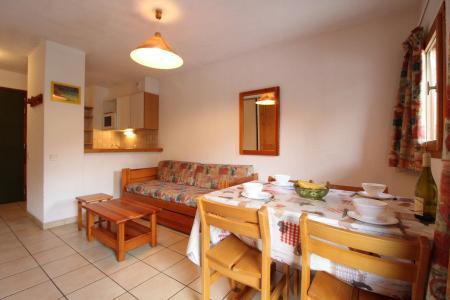 Location au ski Appartement 2 pièces 4 personnes (8) - Résidence le Petit Mont Cenis - Termignon-la-Vanoise - Salle à manger