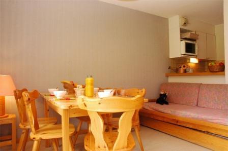Location au ski Appartement 2 pièces coin montagne 6 personnes (19) - Residence Le Petit Mont Cenis - Termignon-la-Vanoise - Table