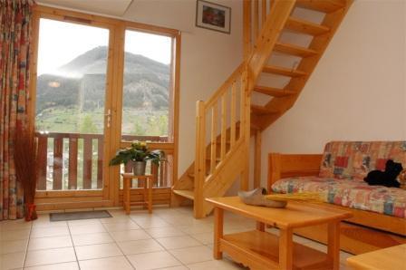 Location au ski Appartement duplex 3 pièces 8 personnes (30) - Residence Le Petit Mont Cenis - Termignon-la-Vanoise - Escalier