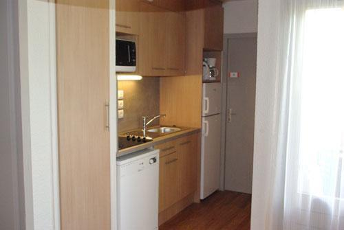 Location au ski Vvf Villages Lac Et Montagne - Thollon les Memises - Kitchenette