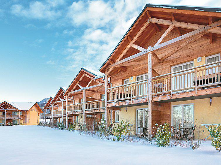 Holiday in mountain resort Park & Suites Evian-Lugrin - Thollon les Memises - Winter outside