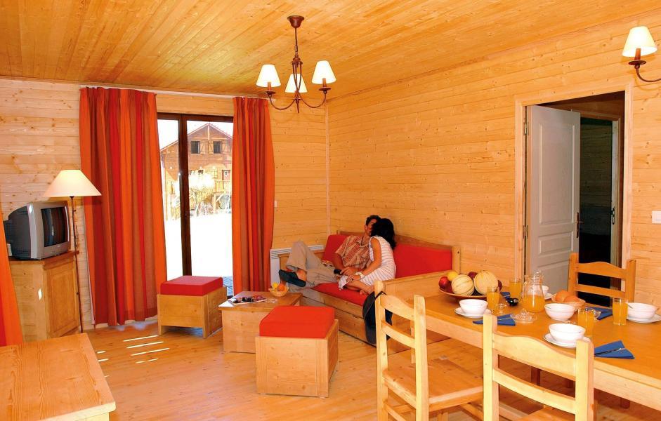 Location au ski Résidence les Chalets d'Evian - Thollon les Memises - Coin repas