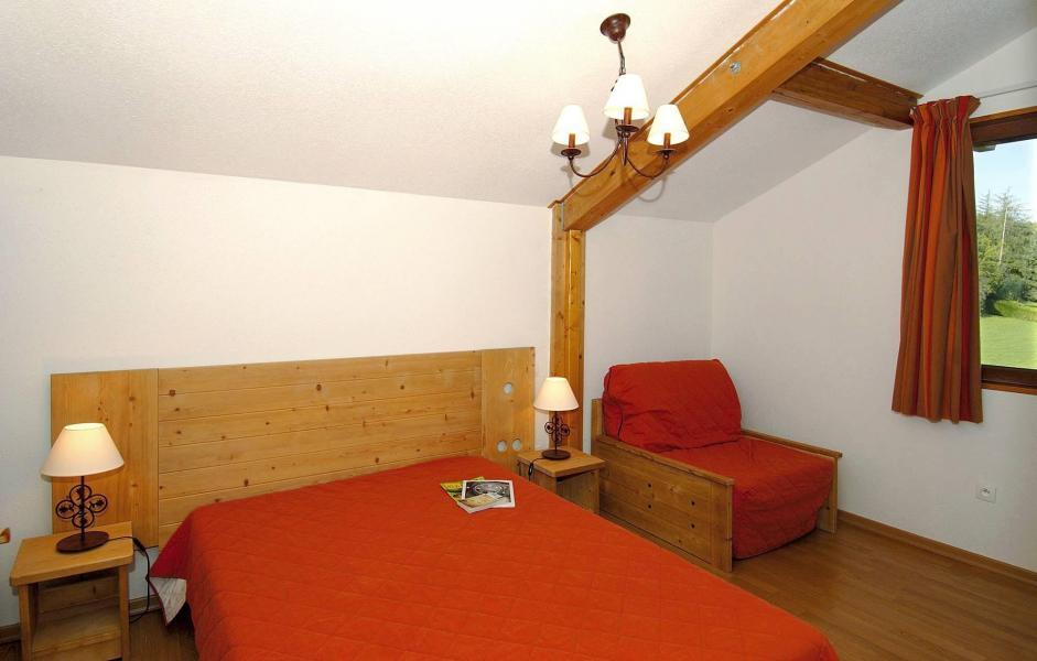 Skiverleih Résidence les Chalets d'Evian - Thollon les Mémises - Schlafzimmer