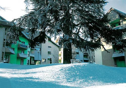 Location au ski Vvf Villages Lac Et Montagne - Thollon les Memises - Extérieur hiver